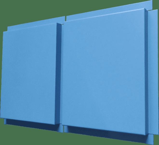 монтаж металлокассет открытого типа
